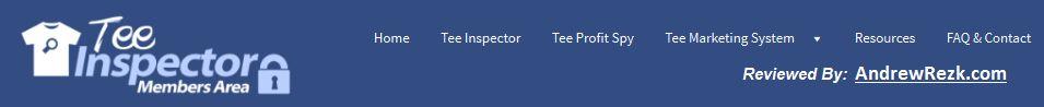 Tee inspector members area